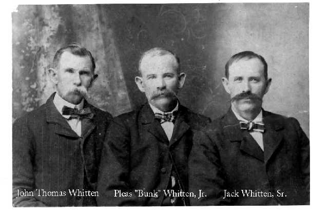 Three Whitten Brothers